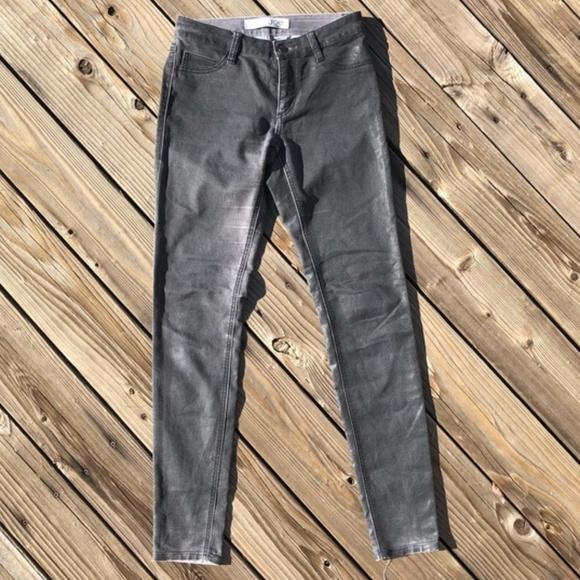 c27c1852e4701 Joe Fresh Jeans | Faded Black Coated Skinny Jeggings | Poshmark